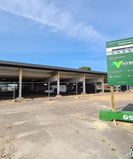 A/S Nortvig - Her kommer Danmarks største bilvask