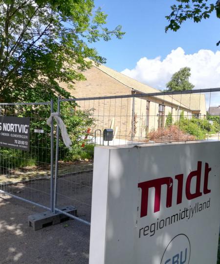 A/S Nortvig - Ombygning af skolefløj på institutionen SBU, Hedensted