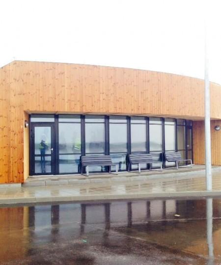 A/S Nortvig - Ballen færgehavn på Samsø